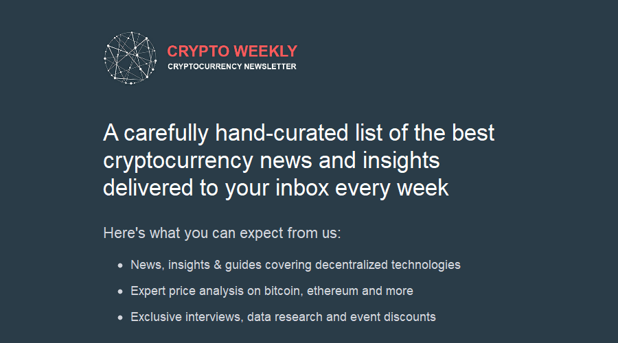 cryptocurrency newsletter